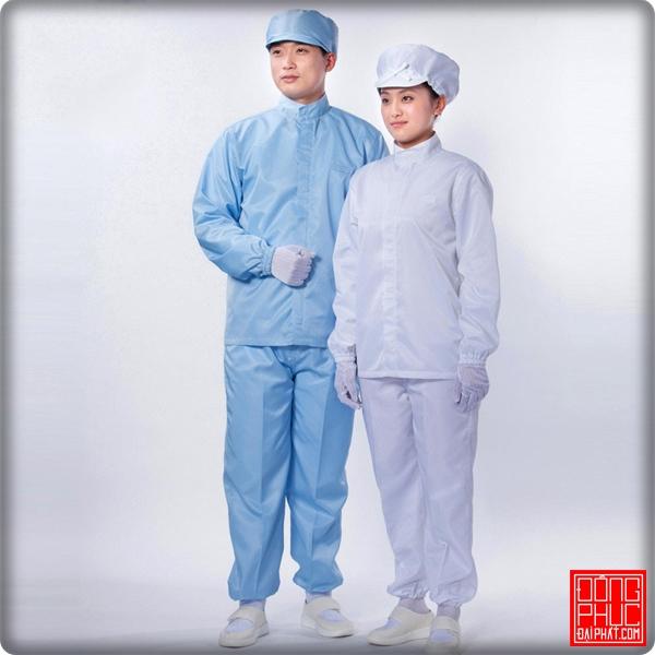 Quần áo phòng sạch DP286